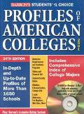 Profiles of Am.colleges...-w/cd