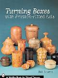 Turning Boxes with Friction-Fitted Lids