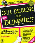 Gui Design for Dummies (with CD-ROM) - Laura Arlov - Paperback - Book and CD-ROM