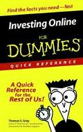 Investing Online for Dummies Quick Reference