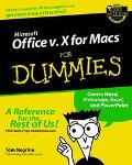 Microsoft Office V.X for Mac for Dummies