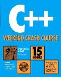C++ Weekend Crash Course-w/cd
