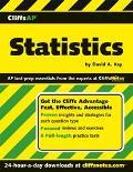 CliffsAP Statistics