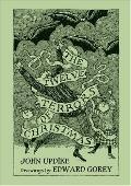 Twelve Terrors of Christmas Drawings by Edward Gorey
