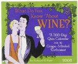 What Do You Know About Wine? 2008 Calendar: A 366-day Quiz Calendar for the Grape-minded Ent...