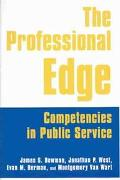 Professional Edge Competencies in Public Service