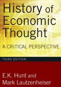 History of Economic Thought: A Critcal Perspective