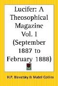 Lucifer A Theosophical Magazine March 1888 To August 1888