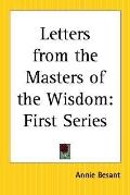 Letters From The Masters Of The Wisdom First Series