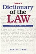 Oran's Dictionary of the Law