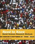 Need to Know Social Science Research Methods