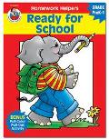 Homework Helper Ready for School, Grades Prek to 1