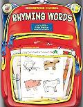 Homework Helper Rhyming Words Color, Trace, And Learn, Grades Prek to 1