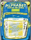 Homework Helper Alphabet Puzzles And Games, Grades K to 1