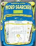 Homework Helper Word Searches, Grades K-1