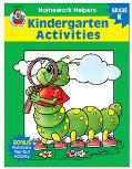 Homework Helper Kindergarten Activities