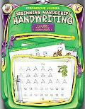 Homework Helper Beginning Manuscript Handwriting, Grade K