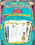 Homework Helper Multiplication Facts, Grade 3
