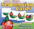 4-step Picture Sequencing Cards