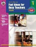 Fast Ideas for Busy Teachers Math, Grade 1
