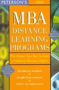 MBA Distance Learning Programs - Peterson's - Paperback