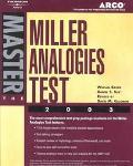 Master Miller Analogies Test 2003