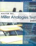 Master the Miller Analogies Test 2004