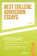 Peterson's Best College Admission Essays