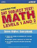 ARCO Master the Sat Subject Test Math Levels 1 and 2