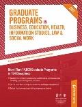 Graduate Programs in Business, Education, Health, Information Studies, Law and Social Work