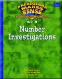 PRE-ALGEBRA MAKE SENSE, BOOK 4,NUMBER INVESTIGATIONS, STUDENT EDITION (Prealgebra Makes Sens...