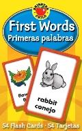 First Words/primeras Palabras Flash Cards