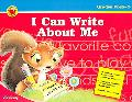I Can Write About Me Grades PreK-2