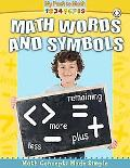 Math Words and Symbols (My Path to Math)