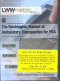 Washington Manual of Ambulatory Therapeutics for Pdas
