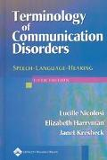 Terminology of Communication Disorders Speech-Language-Hearing