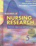 Essentials of Nursing Research Methods Appraisal and Utilization