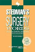 Stedman's Surgery Words