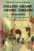 English-Arabic Arabic-English Concise Romanized Dictionary For the Spoken Arabic of Egypt an...