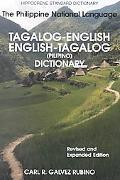 Tagalog-English/English-Tagalog Standard Dictionary Pilipino-Inggles, Inggles-Pilipino Talah...