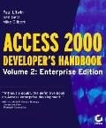 Access 2000 Developer's Handbook Enterprise