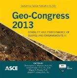 Geo-Congress 2013: Stability and Performance of Slopes and Embankments III (Geotechnical Spe...