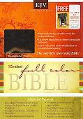Standard Full Color Bible KJV Bonded Leather