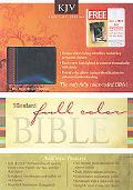 Standard Full Color Bible KJV Duo Tone Leather