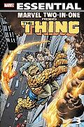 Essential Marvel Two-In-One Volume 3 TPB