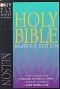 Holy Bible New King James Version Readers Edition