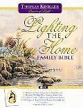 Lighting the Way Home Family Bible, Wedding Edition: New King James Version (NKJV), white bo...