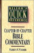 Chapter-By-Chapter Bible Commentary