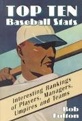 Top 10 Baseball Stats Interesting Rankings of Players, Managers, Umpires and Teams