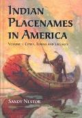Indian Placenames in America Cities, Towns and Villages